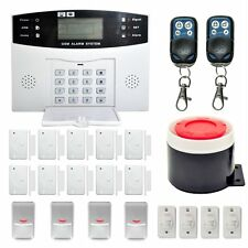 Security Wireless GSM Autodial Officeuseme LCD Intruder Burglar Alarm SY