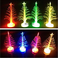 Colorful Christmas Xmas LED Light Tree Color Changing Lamp Party Ornament XG