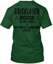 2 Day Left- Last Chance Hurry Order Bricklayer Hanes Tagless Tee T-Shirt