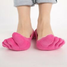 Womens Ankle Five Finger Toe Socks No Show Invisible Cotton Hosiery 6 Color Hot