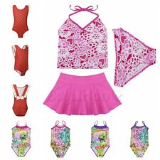 Toddler Kids Baby Girls Tankini Swimwear Swimsuit Bikini Bathing Beachwear Suit!