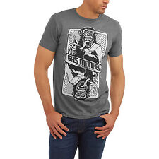 Gas Monkey Garage  Card Graphic Tee With HD t shirt mens S-XL fast n' loud Grey