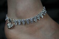 Diamonte Anklet Pair/Indian Diamonte Payal/Bollywood Anklet Pair