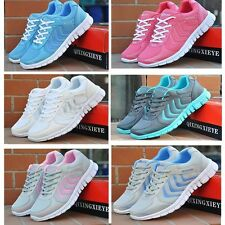 New Running Trainers Womens Walking Shock Absorbing Shoes Sports Fashion Shoes