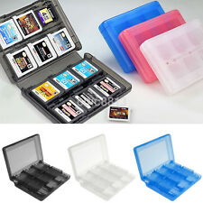 4 Colors 28 in 1 Game Card Case Holder Cartridge Storage Box for Nintendo DS 3DS