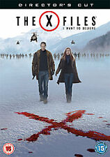 X-Files - I Want To Believe (DVD, 2008) Directors Cut