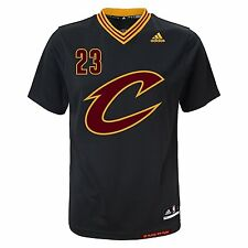 Lebron James Cleveland Cavaliers Adidas NBA PRIDE Black Replica YOUTH Jersey