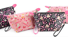 New Hellokitty Cosmetic bag make up bag Case LM-9671