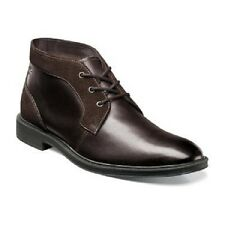 Mens Stacy Adams Delaney Chukka Boot Brown Leather Suede Plain Toe 25053-200 New