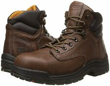 """Timberland PRO Men's Titan 6"""" Safety-Toe Boot 26063 Coffee"""