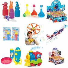 Varrious type of fun toy with Bubble fluid, gun, wand, liquid (Buy 3 Get 1 Free)