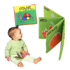 Intelligence Development Cloth Fabic Book Educational Cognize Toy For Baby Kids