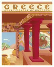 Greece - Crete - Palace of Cnossos (Knossos) Giclee Print by Perakis-Theocharis,