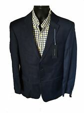 **NEW** MEN'S 2 BUTTON SPORT COAT/ SPORT JACKET / TOMMY HILFIGER NAVY 100% WOOL