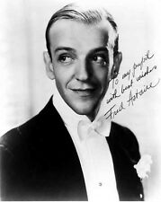 Fred Astaire Portrait in Signature High Quality Photo