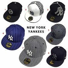 MLB New York Yankees Fitted Hat Custom 59Fifty Cap Free Shipping Sale