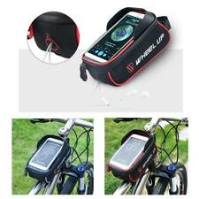 Cycling Bike Frame Pannier Front Tube Phone Bag Mount for Cell Phone Bike Tools