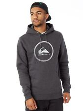 Quiksilver Dark Grey-Heather Big Logo Hoody