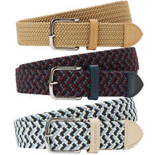 J.Lindeberg Chap Elastic Braid Golf Belt