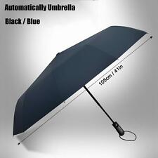 Automatic Folding Umbrella Compact Windproof Anti Uv Auto Open Close Sun Rain