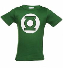 Official Kids Green DC Comics Green Lantern Logo T-Shirt