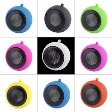 MINI PORTABLE RECHARGEABLE TRAVEL SPEAKER FOR IPOD IPHONE MP3 MOBILE PHONE
