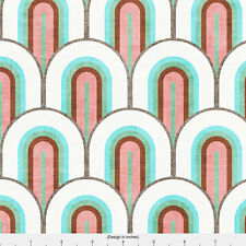 Art Deco Home Decor Fabric Printed by Spoonflower BTY