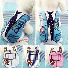 Cute Spring Puppy Pet Soft Cotton T-Shirt Vest Coat Apparel Dog Summer Clothes