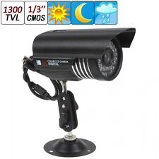 Waterproof HD 1300TVL 3.6mm 36IR LED Sony CMOS Day Night CCTV Security Camera