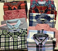American Eagle Boys/Mens Button Down Shirts Plaid, Oxford, XS, Small, Medium