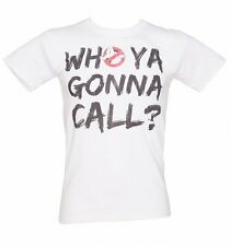 Official Men's Who Ya Gonna Call Ghostbusters T-Shirt