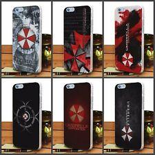 umbrella corporation resident evil transparet clear case for iPhone and Samsung