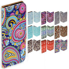 For Huawei P10 Plus P10 - Paisley Pattern Print Flip Wallet Phone Case Cover