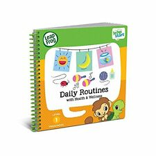 LeapFrog LeapStart Preschool Activity Book Daily Routines and Health & Wellness