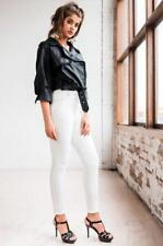 STORM Vegan Leather Jacket by Ivory & Chain - Black