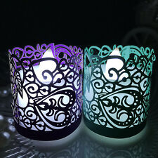 20PCS Paper Candle Holder/Votive Wraps For LED Battery Flameless Tealight Candle