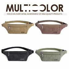 Men Pocket Bag Chest Waist Belt Bag Cell Phone Pouch Travel Fanny Hip Pack Purse