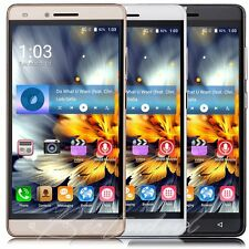 "Unlocked 5"" Quad Core Mobile Cell Phone Dual SIM GPS Android 6.0 Smartphone WIFI"