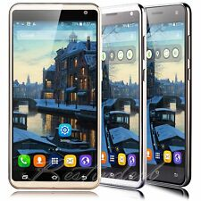 "Unlocked 5.5"" Quad Core Mobile Cell Phone Dual SIM GPS Android Smartphone WIFI"