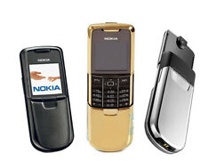 Nokia 8800 CELL PHONE Gold Silver Black to choose without retail box W/ gift