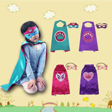 Kids Costumes Girs Princess Cape Mask for Kids Birthday Halloween Costume Party