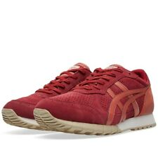 ASICS Onitsuka Tiger Colorado 85 Red Suede Womens Mens Trainers Sneakers Shoes
