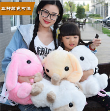 Kids Hot Cute Plush Soft Long Ears Bunny Rabbit Animals Doll Toy Gift Backpack