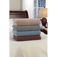Safe and Warm Micro Fleece Low Voltage Heated Electric Blanket