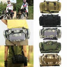 Military Army Travel Waist Bag For Tactical Camping Hiking Bike Bicycle Sport  Y