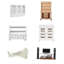 1/12 Scale Dolls House Miniatures Wooden Furniture Room Items Decor Accessories