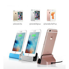 Cradle Charging Stand Station Sync Data USB Cable Charger Dock For iPhone