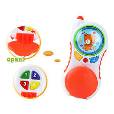 Kids Baby Musical Phone Toy Toddler Sound Learning Educational Children Toy