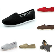 Fashion Unisex Canvas Shoes Slip-on Flats Leisure Loafer Travel Climbing Shoes