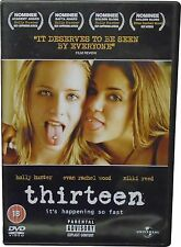 USED Thirteen - Region 2 DVD (K.W)
